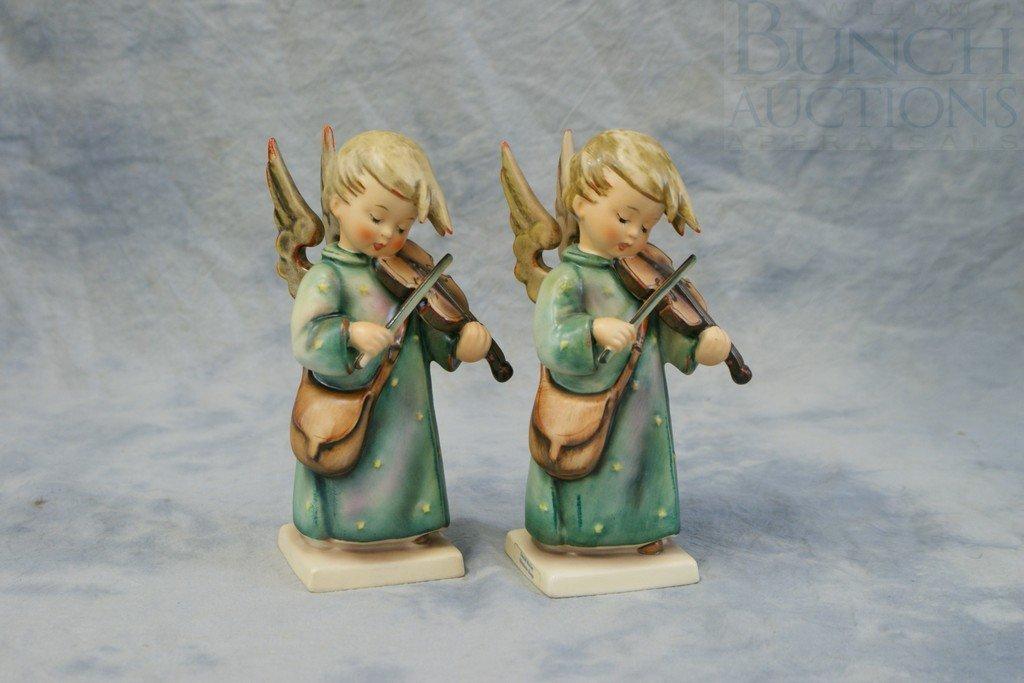 3153Q: (2) Hummel Figurines, Celestial Musician, 188/1,