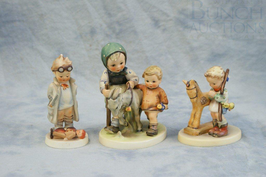 3153S: (3) Hummel figurines, Prayer Before Battle, 20,