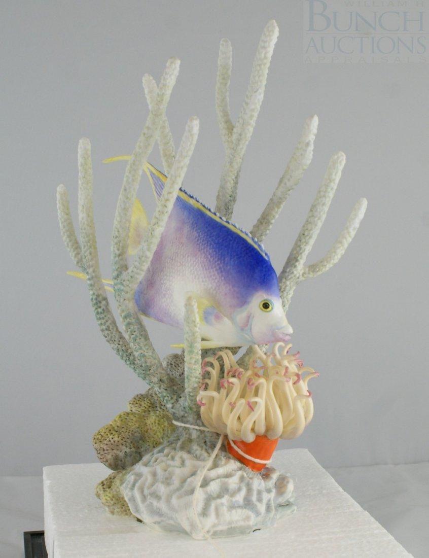 3070B: Royal Worcester Blue Angel Fish
