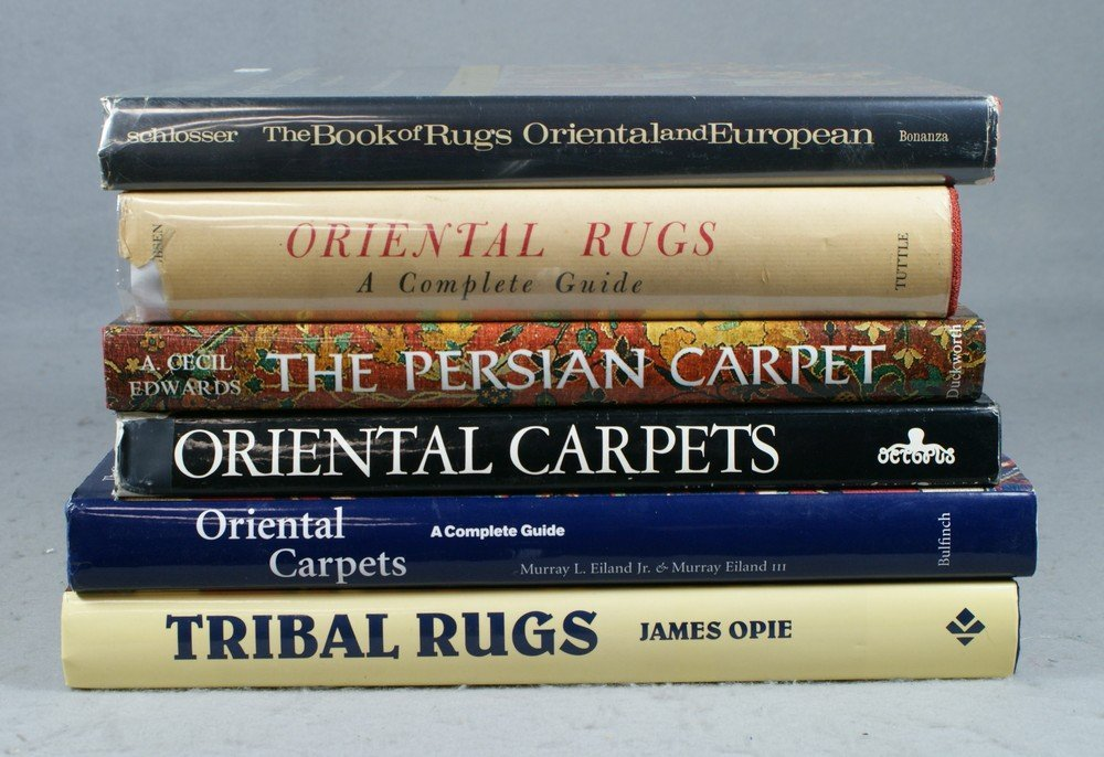 4023: (6) Oriental rug reference books, Oriental Carpet