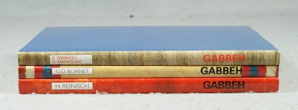 """4024: (3) vols, """"Gabbeh"""", H Reinisch, 1968, The Georges"""