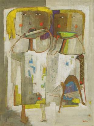 4369: Angel Botello, Spanish/Puerto Rican, 1913-1986, 4