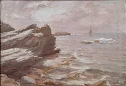 4387: Ivan Fedorovich Choultse, Russian, 1874-1932, o/c