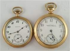 4100G 2 YGF OF pocket watches American Waltham 16S