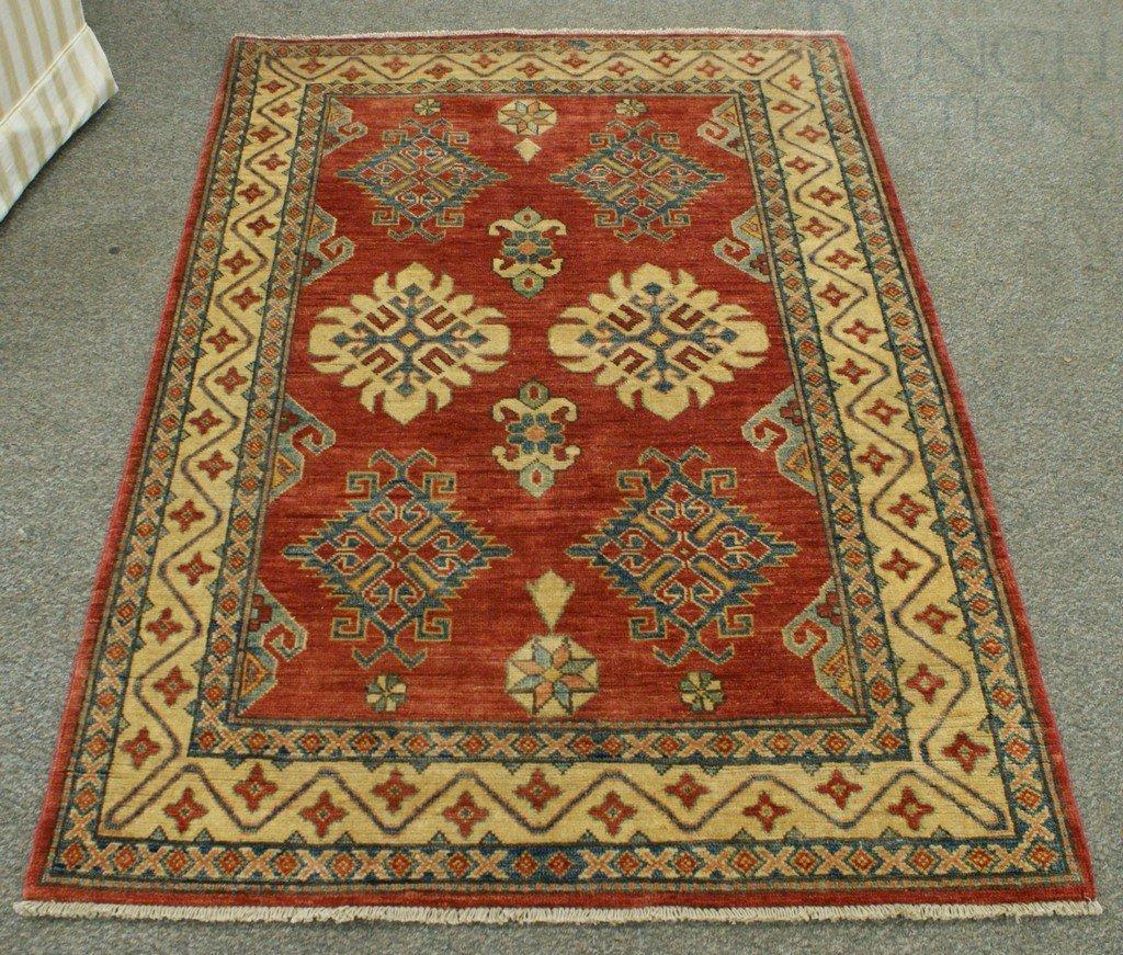 """4020B: 4'4"""" x 6'2"""" Uzbek Kazak"""