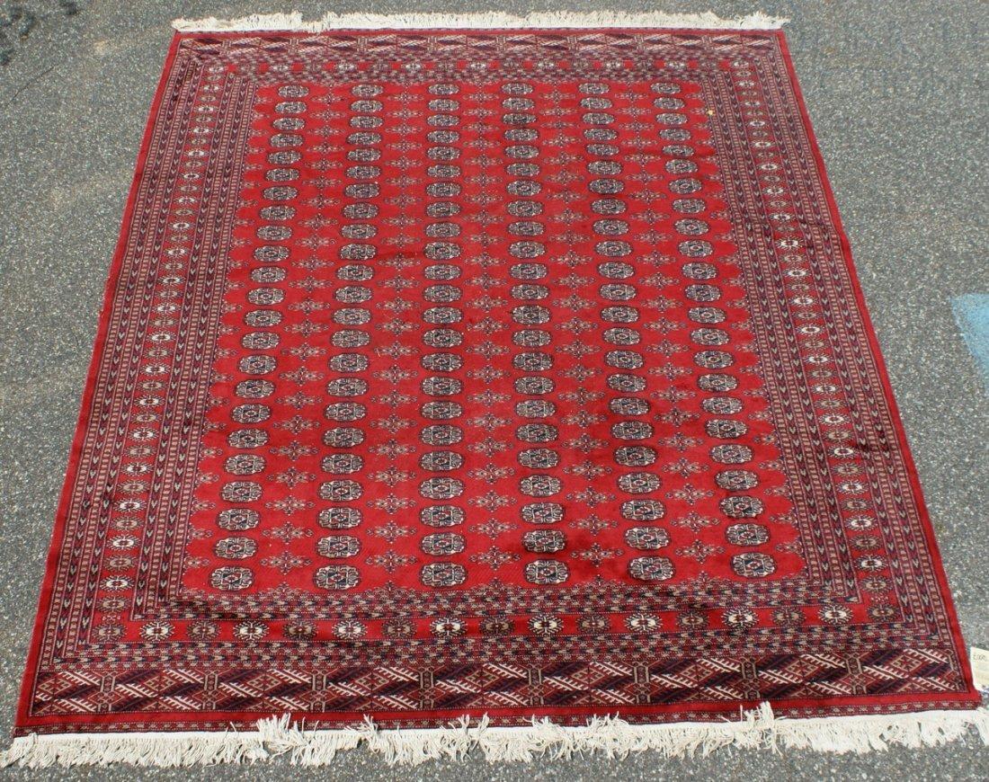 6007: 8' x 10' red Bokhara