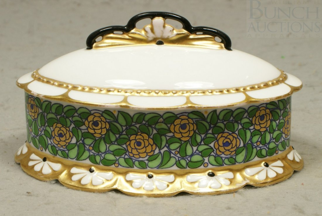 6150: Sontag & Sohne, Tettau, Germany porcelain covered