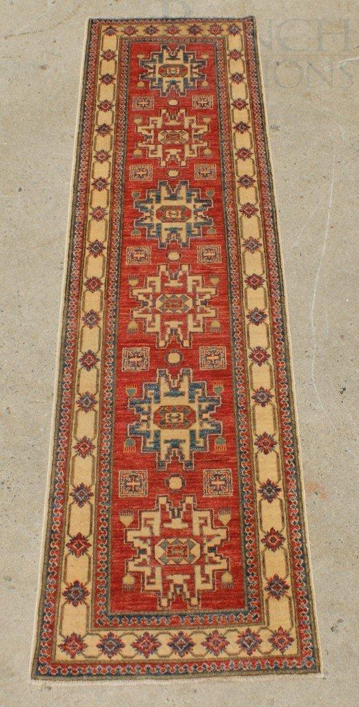 """6013: 2'9"""" x 10'6"""" Uzbek Kazak"""