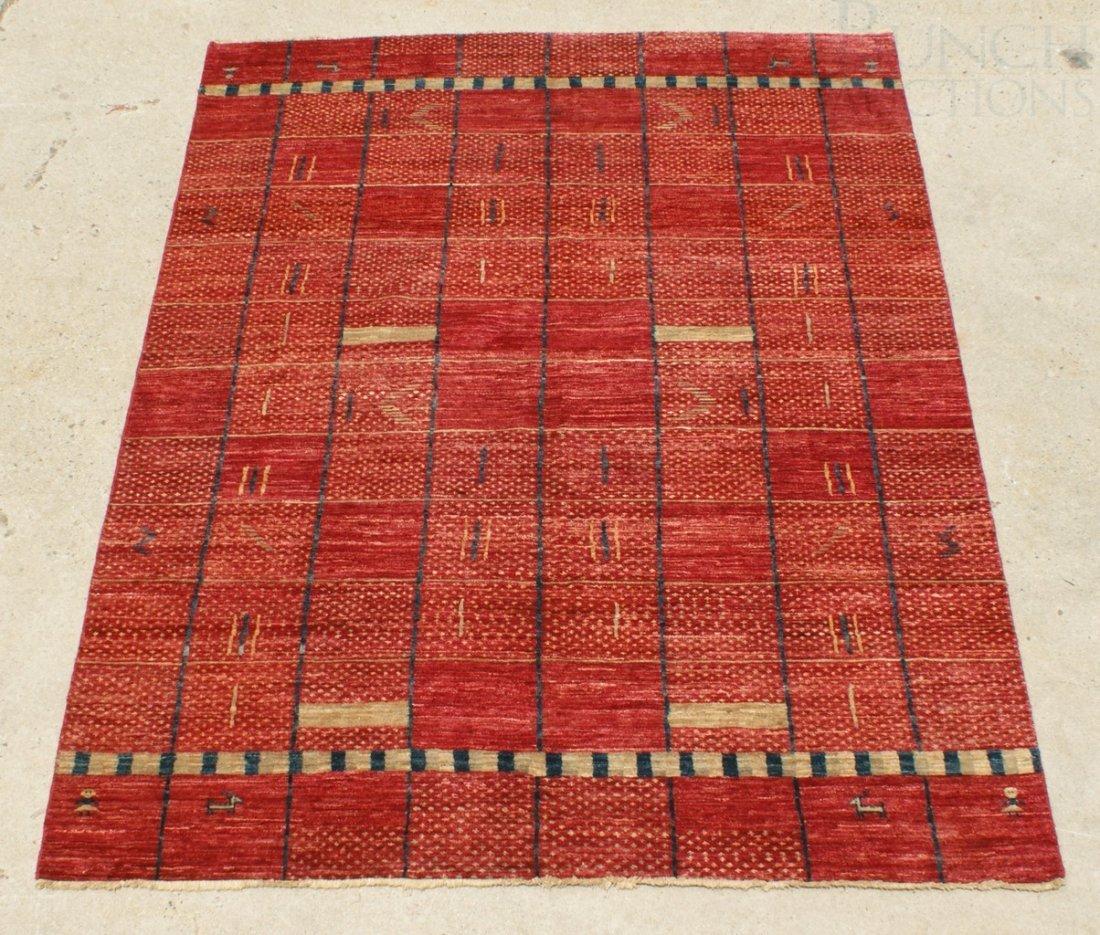 "6022: 6'1"" x 8'5"" Peshawar Tribal rug"
