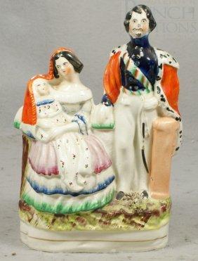 Staffordshire Figurine, Probably Of Queen Victori