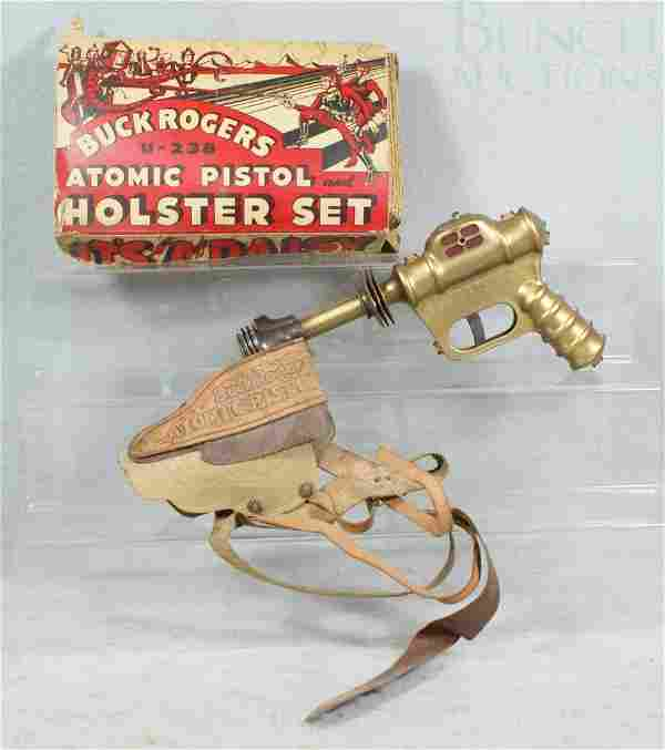 Buck Rogers Atomic Pistol and Holster Set U-238,
