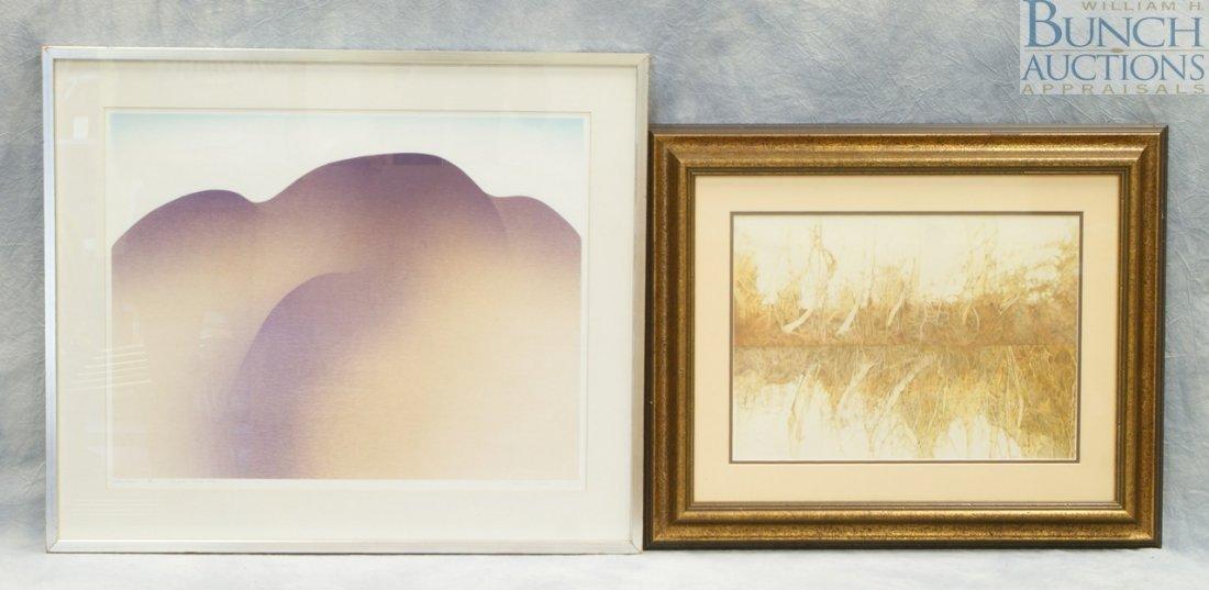 9810: (2) Prints, Carole Edwards Evans, American, color