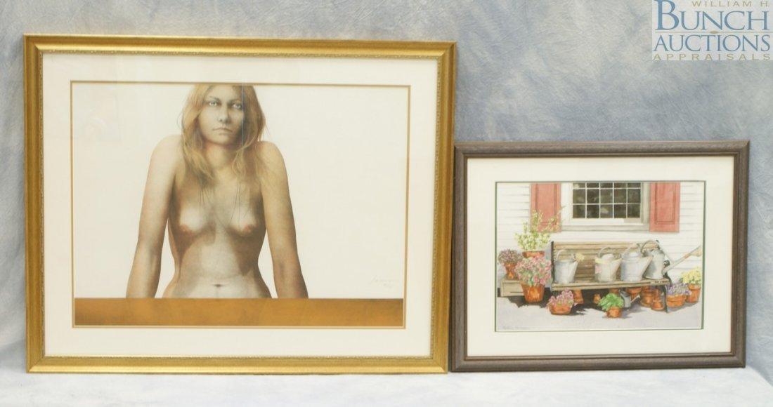 9814: (2) American artists, Cynthia Swanson, American,