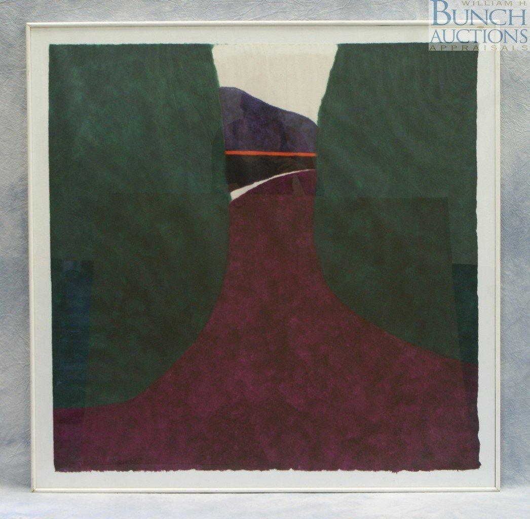 "9820: Judith Ingram, American, 1926-2012, ""Blue Hill, M"