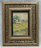12635 American school early 20th c Impressionist la