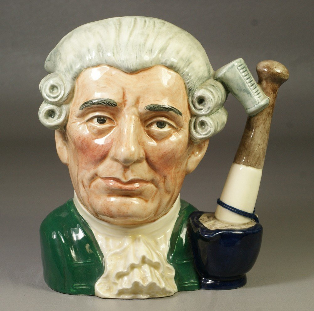8001D: Royal Doulton Apothecary Character Jugs from Wil