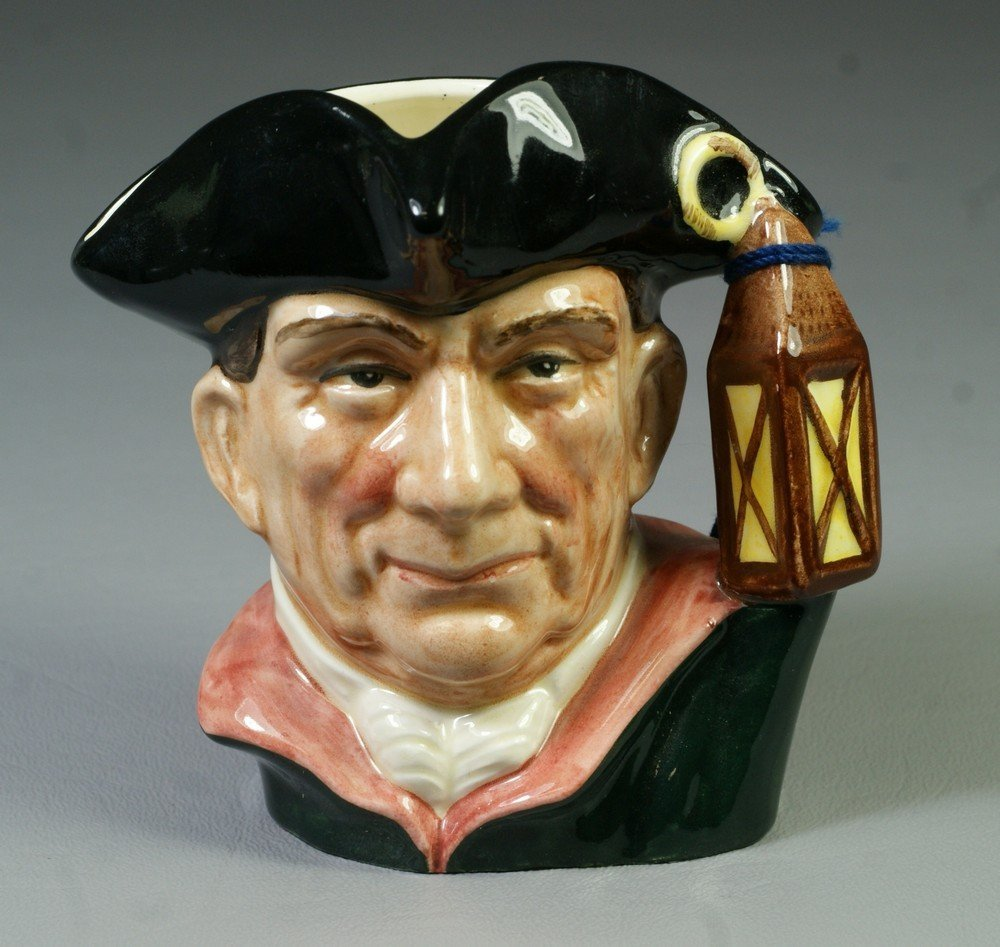 8003C: Royal Doulton Night Watchman Character Jugs from
