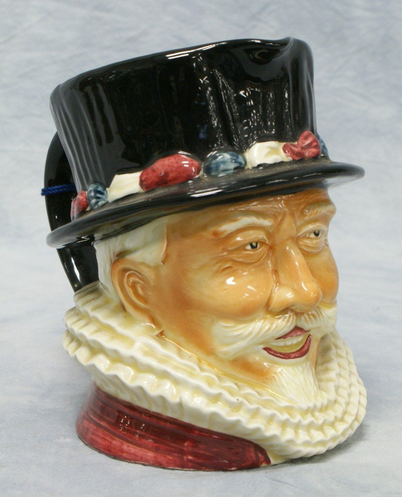 8004: Shorter Beefeater 829 toby jug, made in England,
