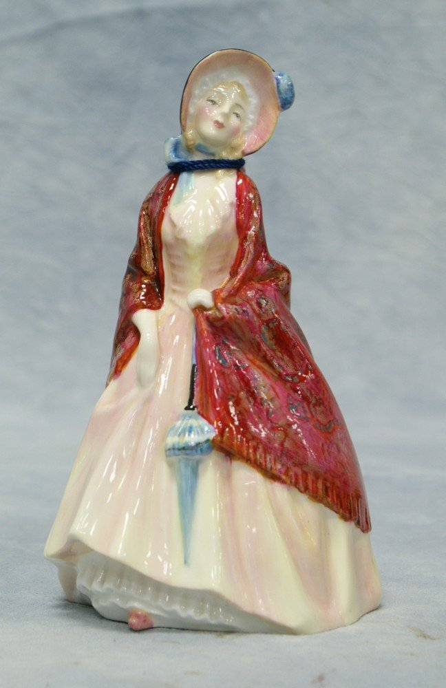 8006: Royal Doulton Paisley Shawl figurine, HN 1988, 6