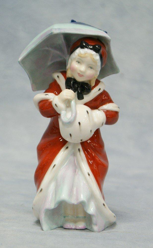 8006A: Royal Doulton Miss Muffett figurine, HN 1936, 5