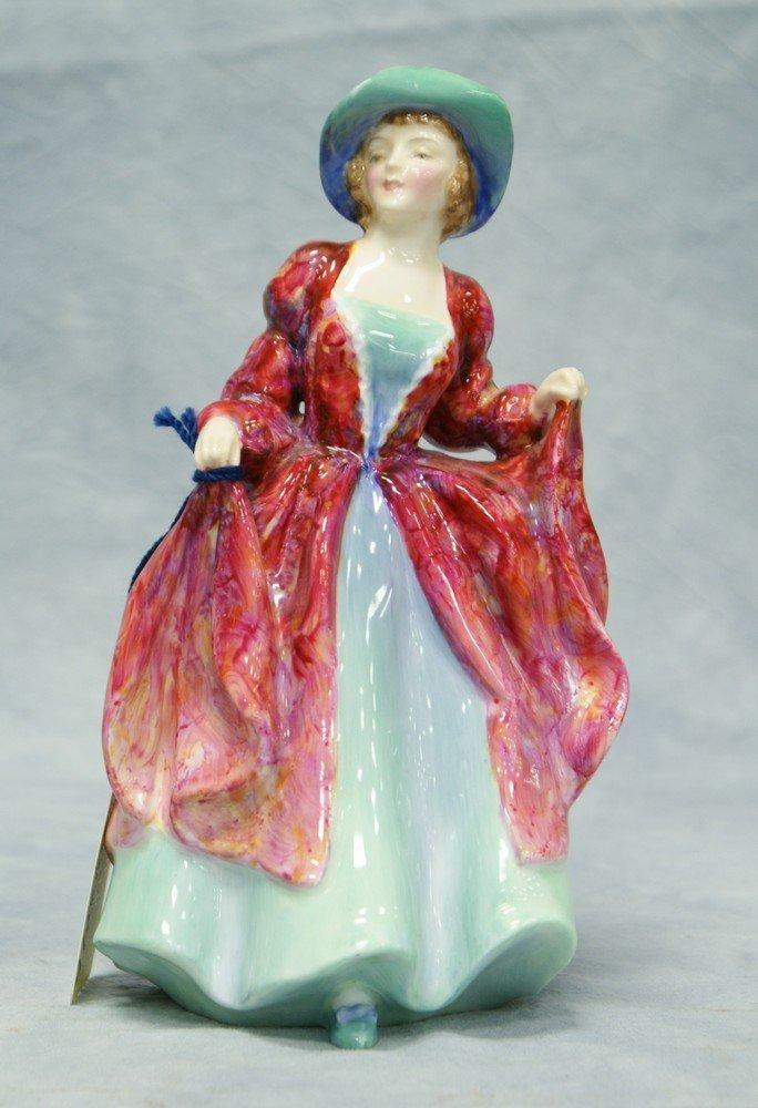 "8007A: Royal Doulton Margaret figurine, HN 1989, 7 1/2"""