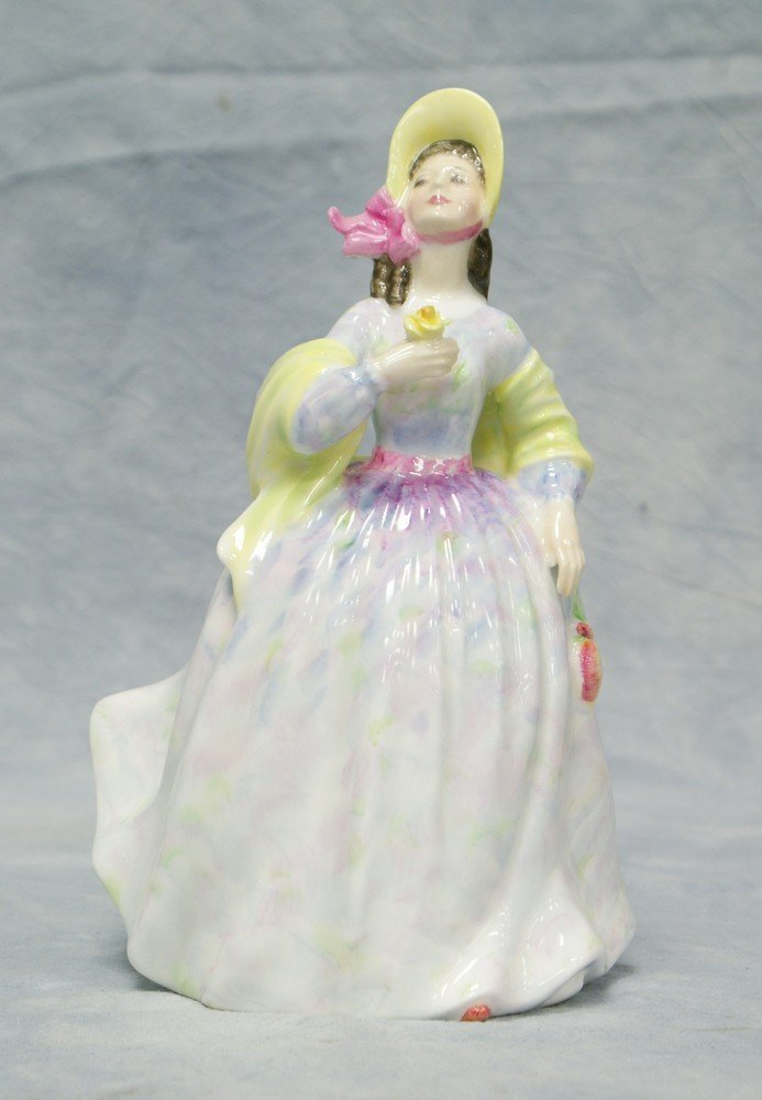 "8010A: Royal Doulton Clare figurine, HN 2793, 8"" tall"
