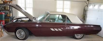 "1963 Ford Thunderbird ""M"" Code Convertible"