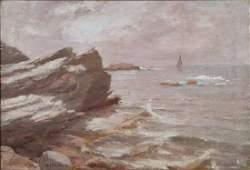 "Ivan Fedorovich Choultse, Russian, 1874-1932, o/c, 19"""