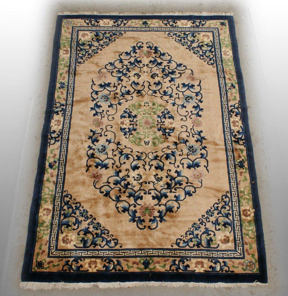 "6' x 9' 1"" Peking Chinese rug"
