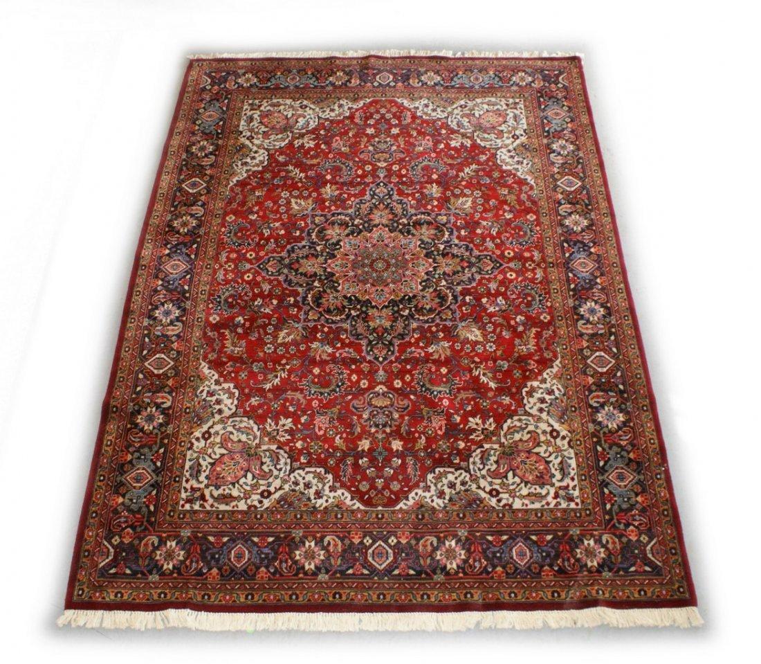 "8' 1"" x 11' 3"" machine made Persian style rug"