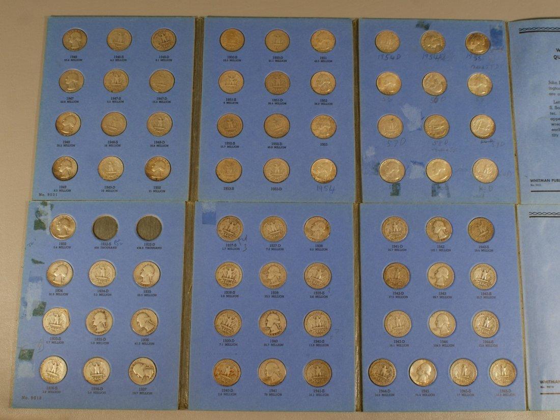 Washington quarter collection (circulated) 1932-1960 in