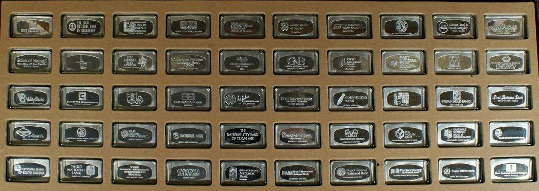 50 Sterling Silver Franklin Mint Bankmarked Struck Ingo