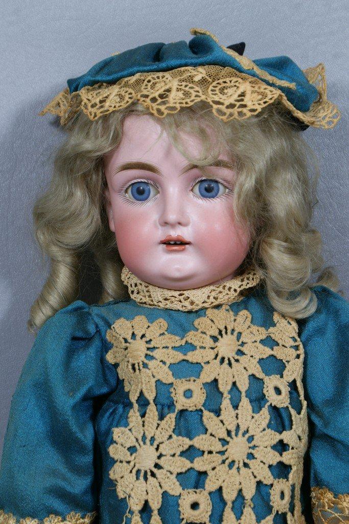 "Kestner bisque head doll, incised ""J Made in Germany 13"