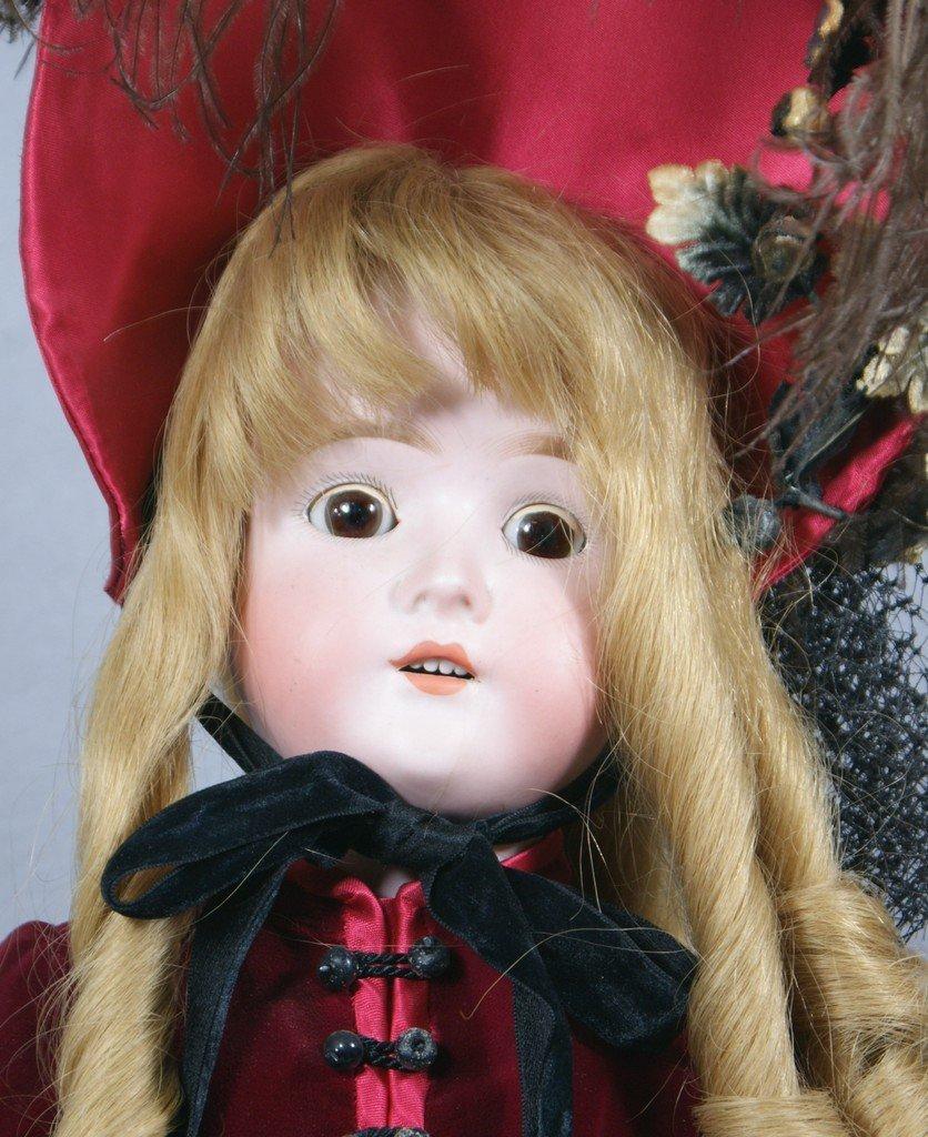 """Bisque socket head incised """"My Girlie III Germany"""" brow"""