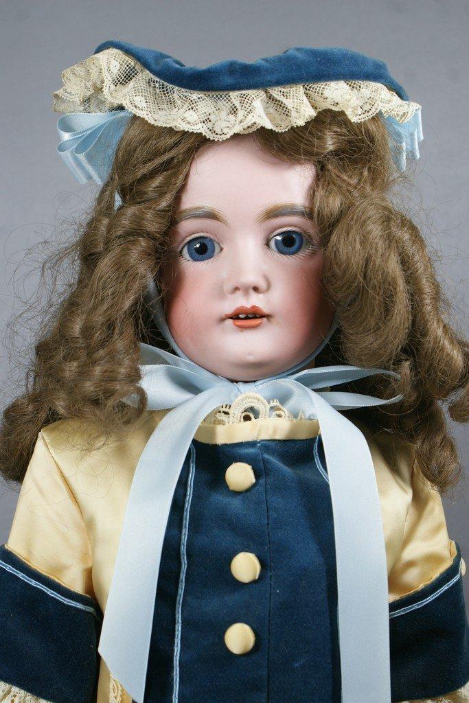"Pretty Kestner bisque head doll, incised ""Made in Germa"