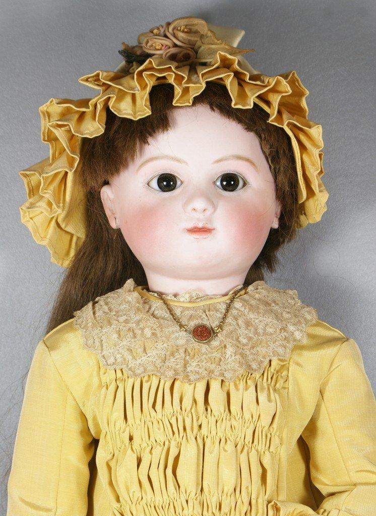 Antique French Jules Steiner Doll, pressed bisque head
