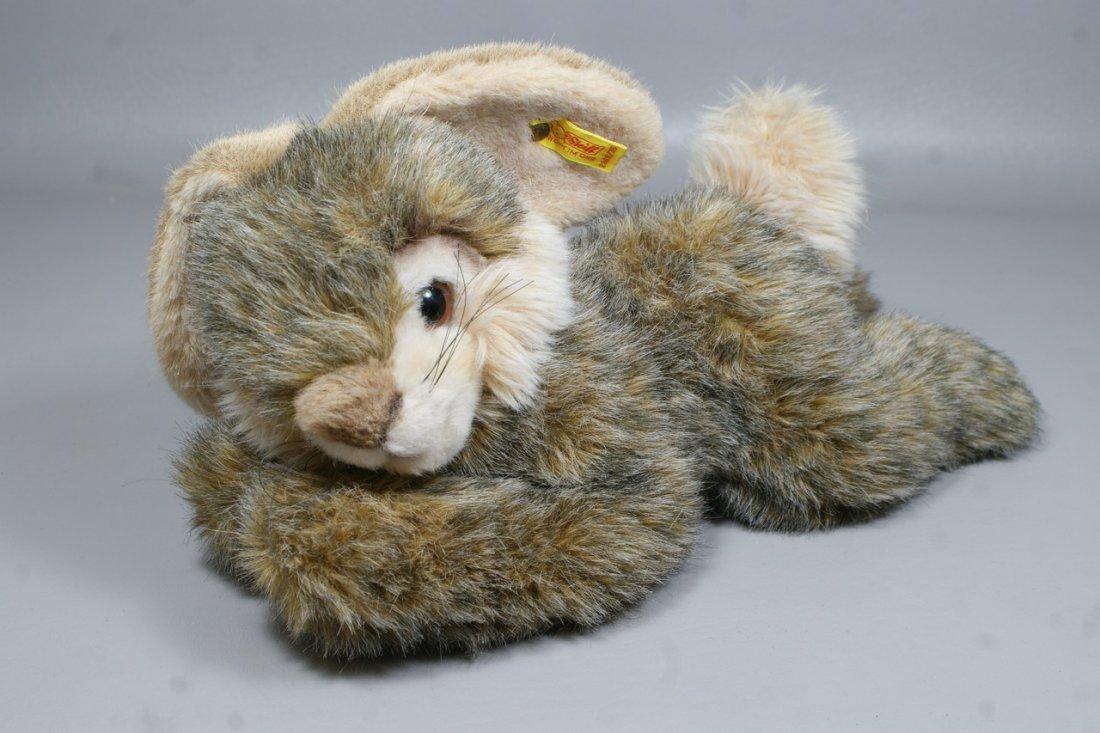 "Steiff Plush Bunny Rabbit, ""Snobby Rabbit"" (with ear ta"