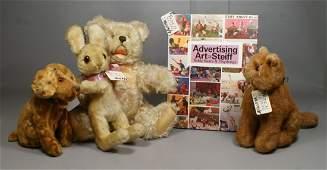 "Advertising Art of Steiff Teddy Bears and Playthings"" b"