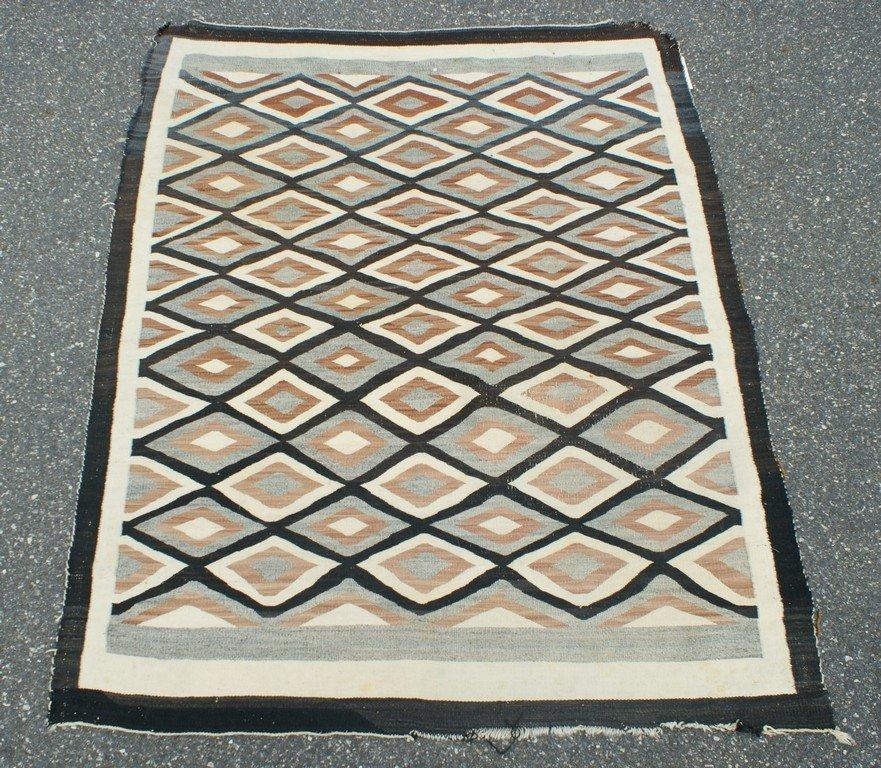 """5' x 6'2"""" Native American rug"""