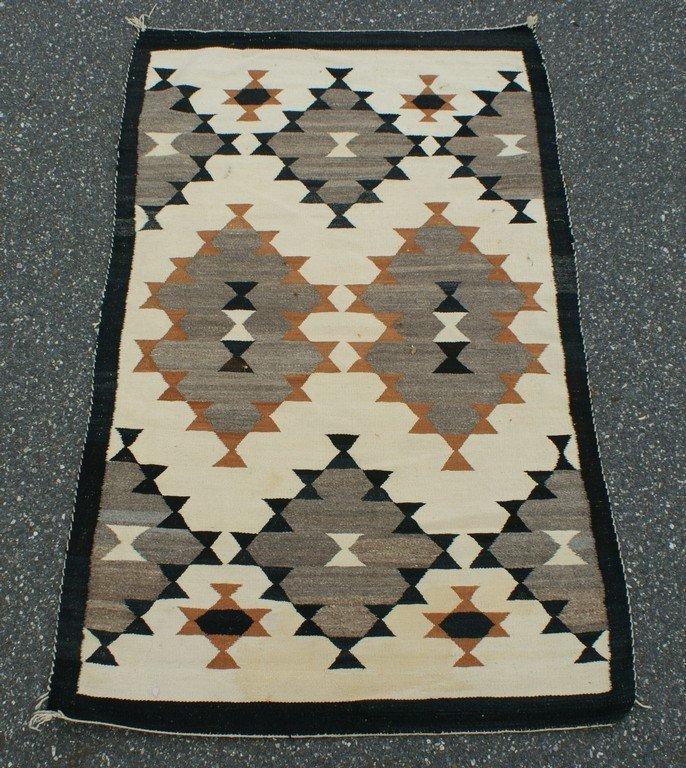 """3'5"""" x 5'9"""" Native American rug"""