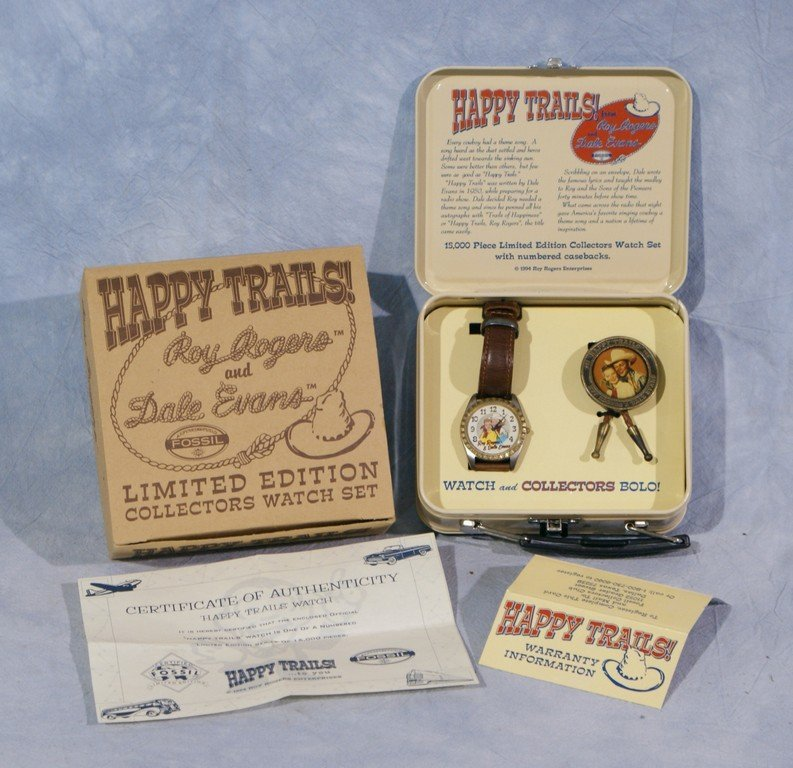 Roy Rogers & Dale Evans Happy Trails Limited Edition