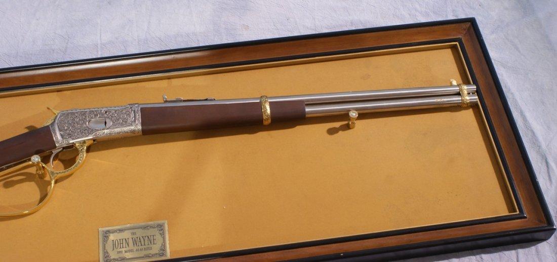 Franklin Mint John Wayne Replica 1892 Model 44-40 - 2