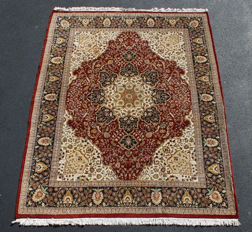 """Indo-Persian Carpet, 9'1"""" x 11'7"""""""