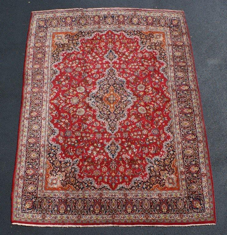 """9'4"""" x 12'8"""" red Persian carpet"""