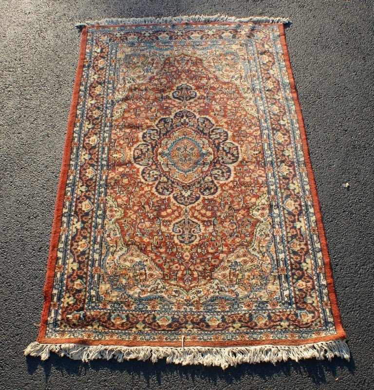 """Hamadan Carpet, 4'1"""" x 6'7"""""""