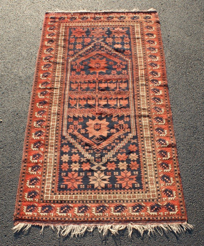 "Shirvan Carpet, 3'9"" x 6'11"""