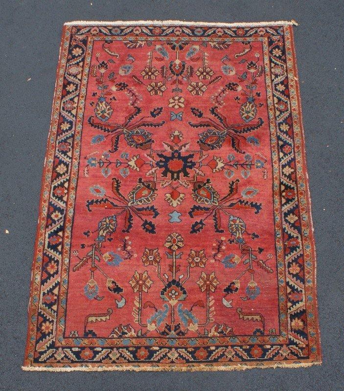 """Hamadan Carpet, 4'5"""" x 6'8"""""""