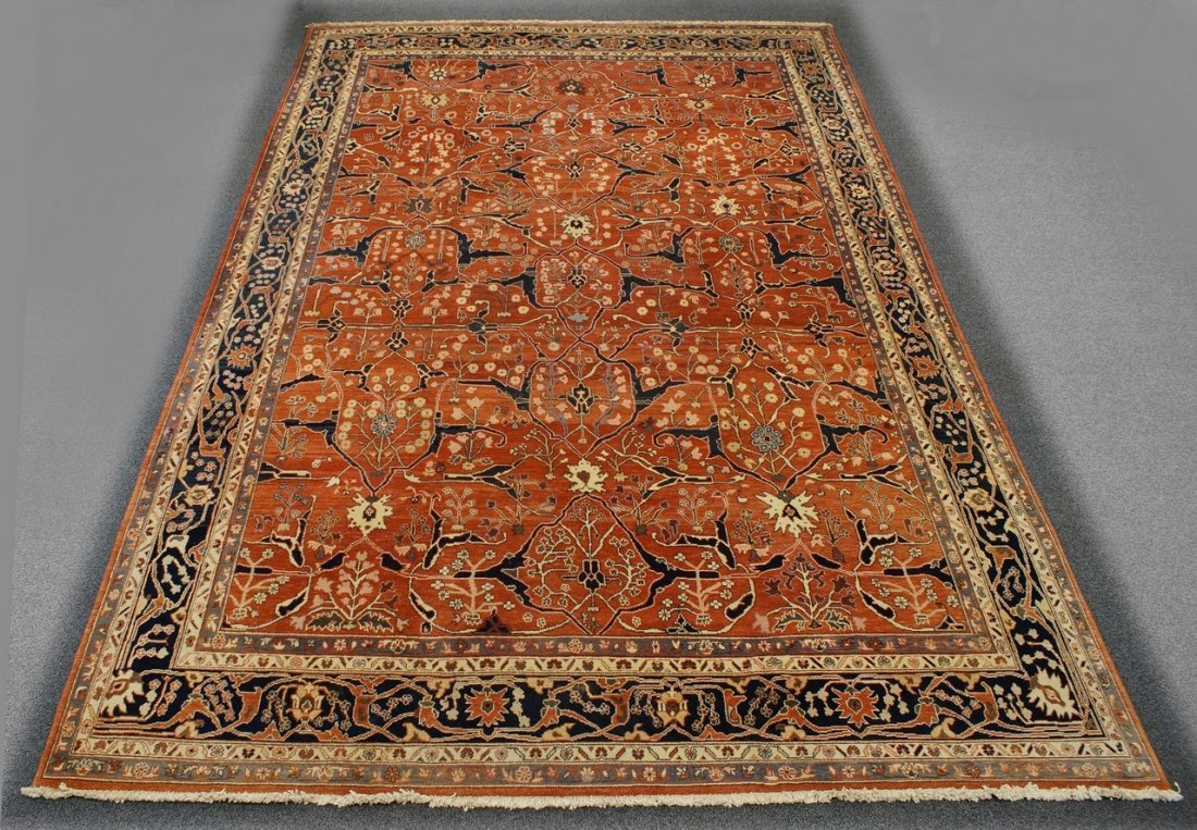 "12'2"" x 18'1"" Mahal carpet"