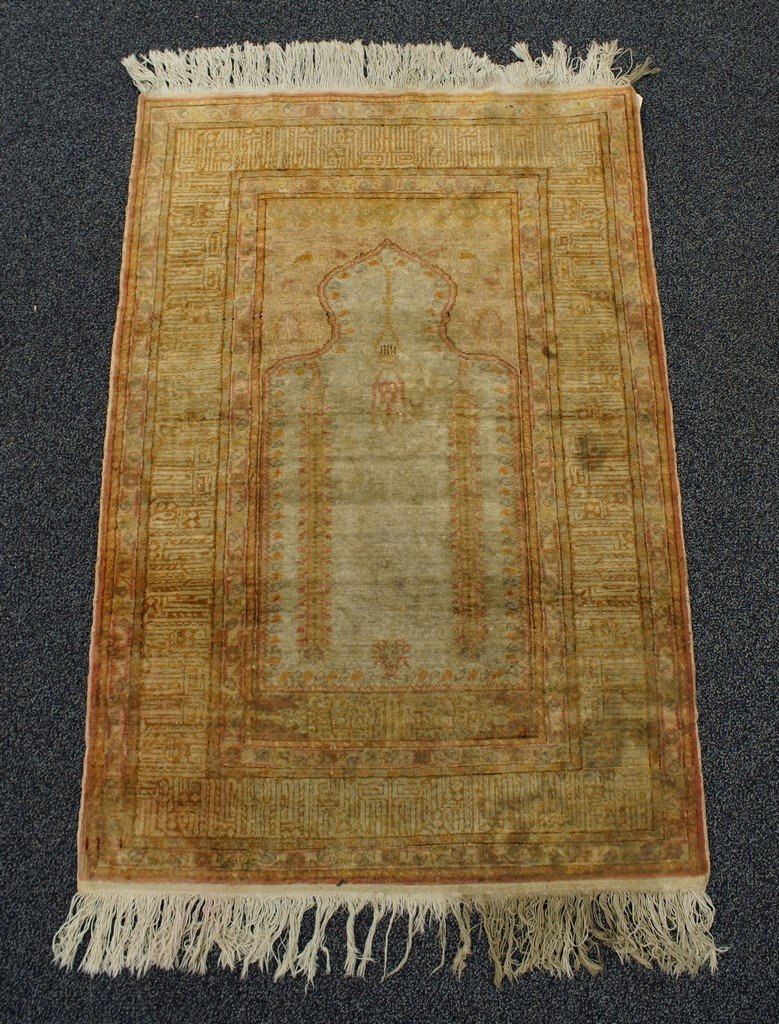 "3' x 4'4"" Turkish Prayer Rug"