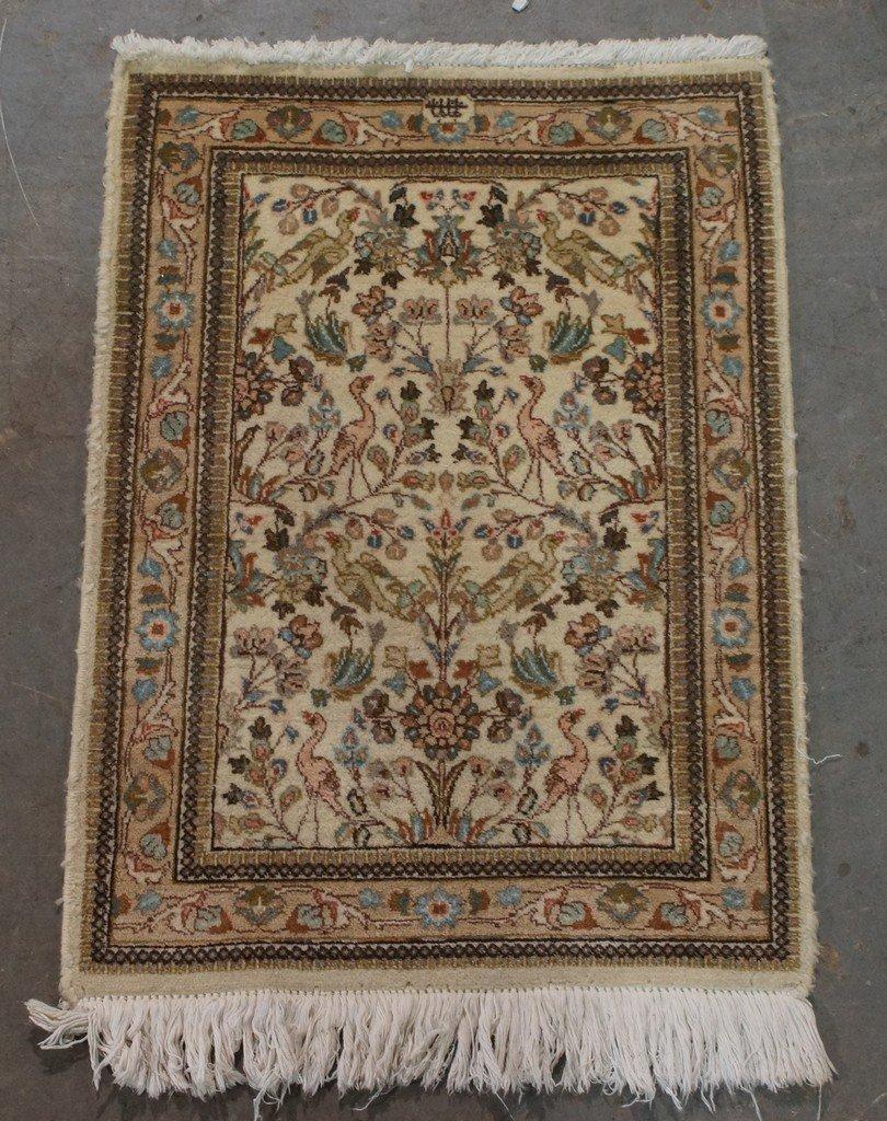 """29"""" x 41"""" Tabriz throw rug"""